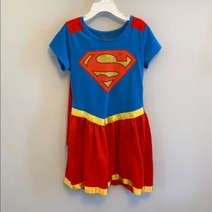 Supergirl with cape size 7/8